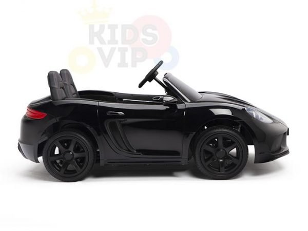 KIDSVIP XXL RIDE ON CAR FOR BIG KIDS 24V 180W RUBBER WHEELS LEATHER SEAT black 9