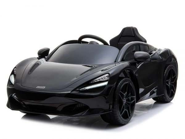 McLaren 720S 12V Kids Electric Ride On Car with Remote Control Painted Black 067 Copy