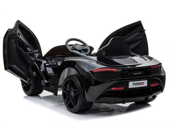 McLaren 720S 12V Kids Electric Ride On Car with Remote Control Painted Black 074 Copy