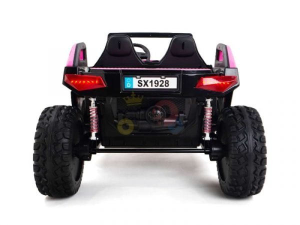 kids vip dune buggy challenger 24v sx1928 ride on kids 2 seater pink 10