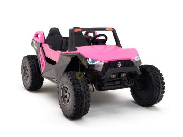 kids vip dune buggy challenger 24v sx1928 ride on kids 2 seater pink 11