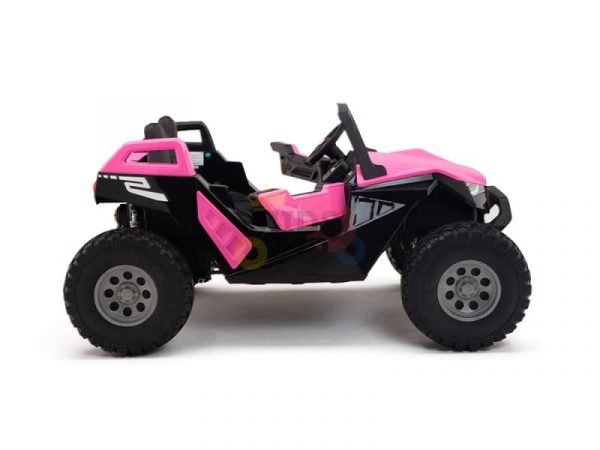 kids vip dune buggy challenger 24v sx1928 ride on kids 2 seater pink 12