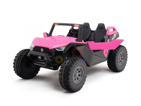 kids vip dune buggy challenger 24v sx1928 ride on kids 2 seater pink 3