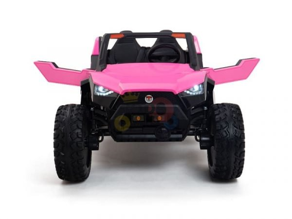 kids vip dune buggy challenger 24v sx1928 ride on kids 2 seater pink 5