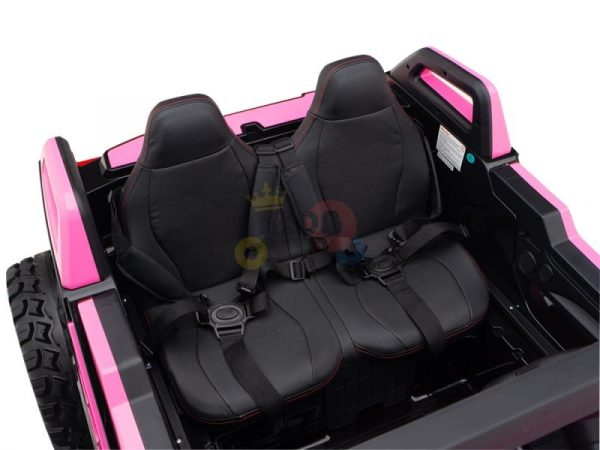 kids vip dune buggy challenger 24v sx1928 ride on kids 2 seater pink 8
