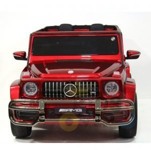 kidsvip 24v kids mercedes g63 red 1