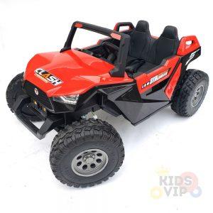kidsvip 2 seater ride on utv dune 24v rubber wheels toddlers kids red 2