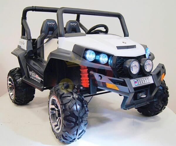 kidsvip utv buggy kids and toddlers ride on 2x12v rubber wheels 2588 white 10