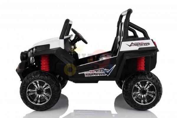 kidsvip utv buggy kids and toddlers ride on 2x12v rubber wheels 2588 white 16