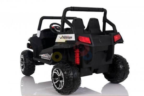 kidsvip utv buggy kids and toddlers ride on 2x12v rubber wheels 2588 white 2
