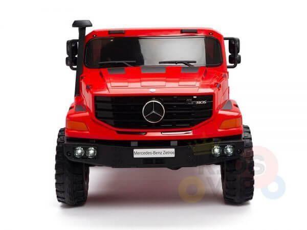 kidsvip zetros 24v kids ride on car 2 seater red 1