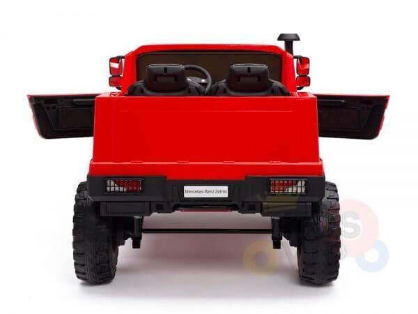 kidsvip zetros 24v kids ride on car 2 seater red 13