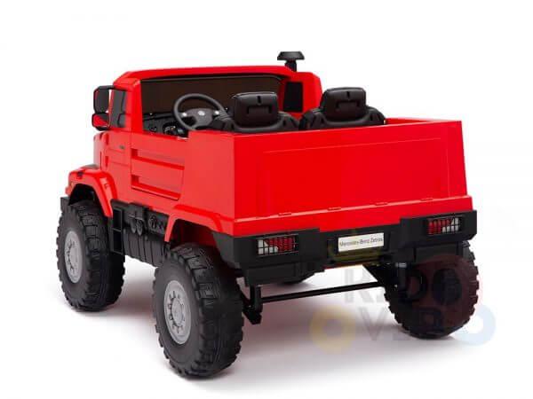 kidsvip zetros 24v kids ride on car 2 seater red 15