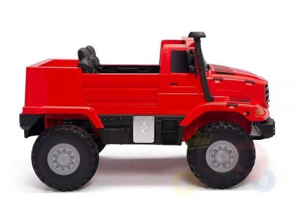 kidsvip zetros 24v kids ride on car 2 seater red 6