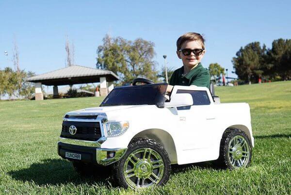 kids ride on car tundra 12 toyota 12v kidsvip 18