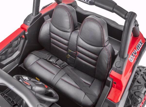 kidsvip 2 seater ride on utv sport 24v rubber wheels toddlers kids red 20 scaled