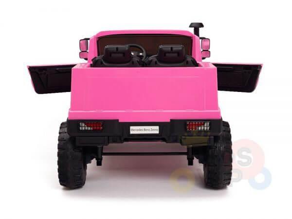kidsvip zetros 24v kids ride on car 2 seater pink 11