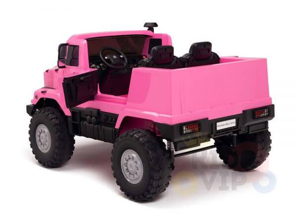 kidsvip zetros 24v kids ride on car 2 seater pink 12
