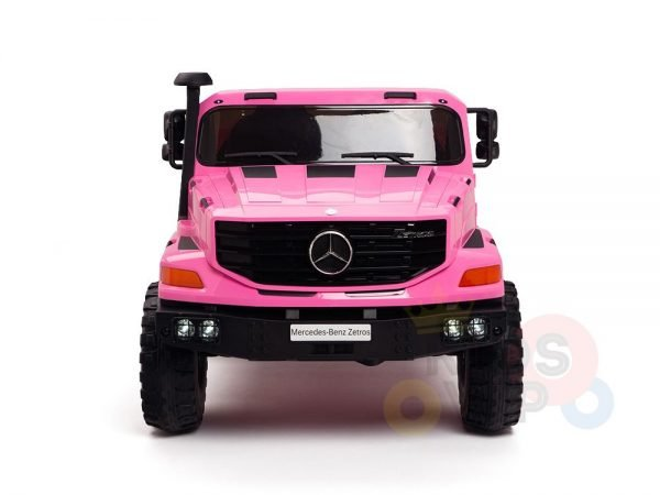 kidsvip zetros 24v kids ride on car 2 seater pink 14