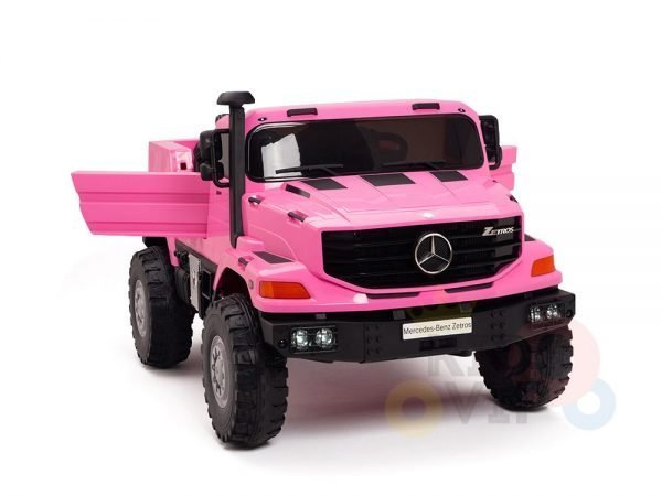 kidsvip zetros 24v kids ride on car 2 seater pink 15