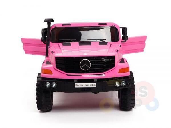 kidsvip zetros 24v kids ride on car 2 seater pink 2