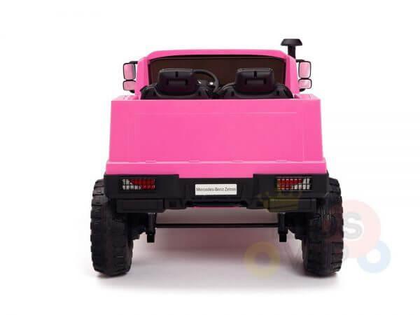 kidsvip zetros 24v kids ride on car 2 seater pink 20