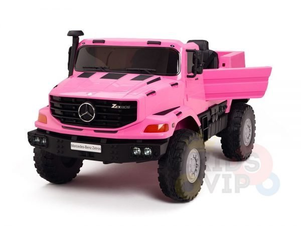 kidsvip zetros 24v kids ride on car 2 seater pink 3