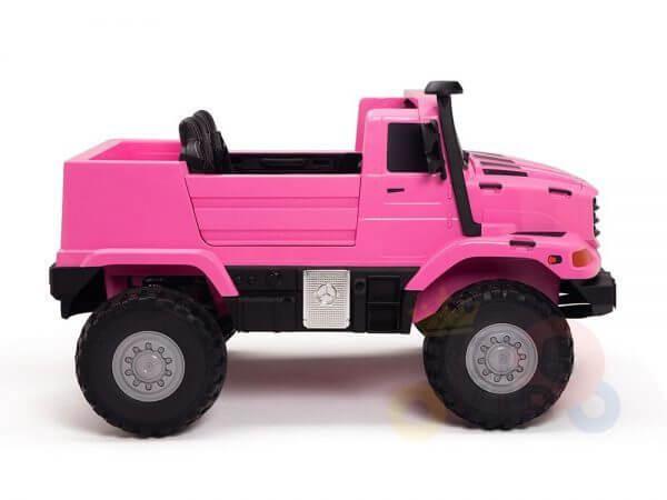 kidsvip zetros 24v kids ride on car 2 seater pink 4