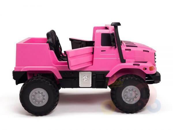 kidsvip zetros 24v kids ride on car 2 seater pink 5