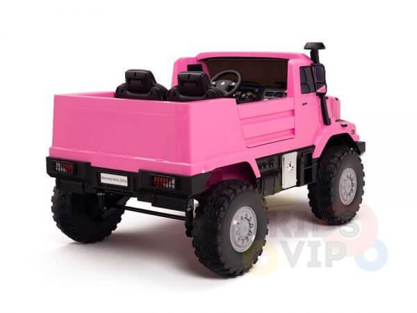 kidsvip zetros 24v kids ride on car 2 seater pink 7