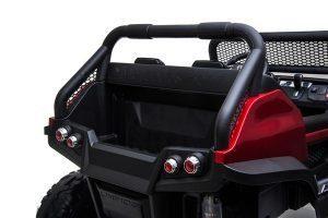 mercedes benz unimog ride on utv for kids leather seat rubber wheels 4 motors kidsvip 7