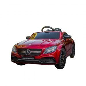 12v Mercedes GLA45 Kids and Toddlers Ride on Car rc leather seat rubber wheels kidsvip 1 1