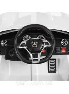 12v Mercedes GLA45 Kids and Toddlers Ride on Car rc leather seat rubber wheels white kidsvip 12 1