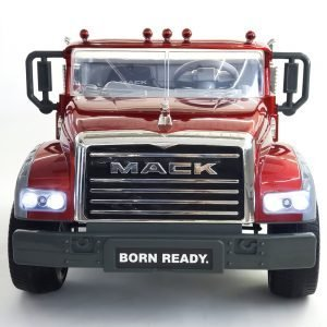 kidsvip kids and toddlers mack truck ride on car red with remote 1