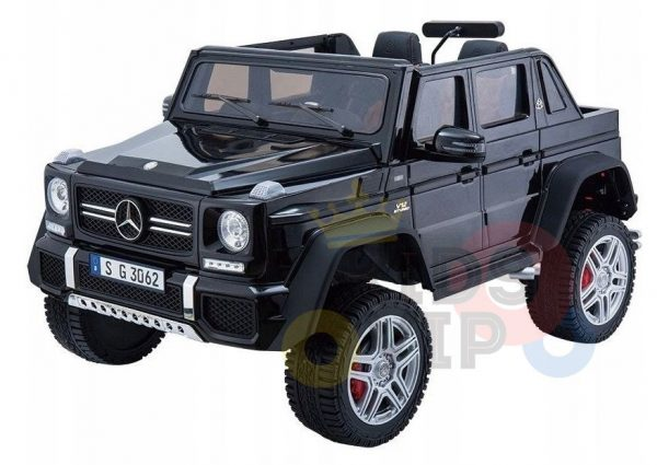 kidsvip mercedes maybach ride on truck car 2seater 2 seater black mp4 17