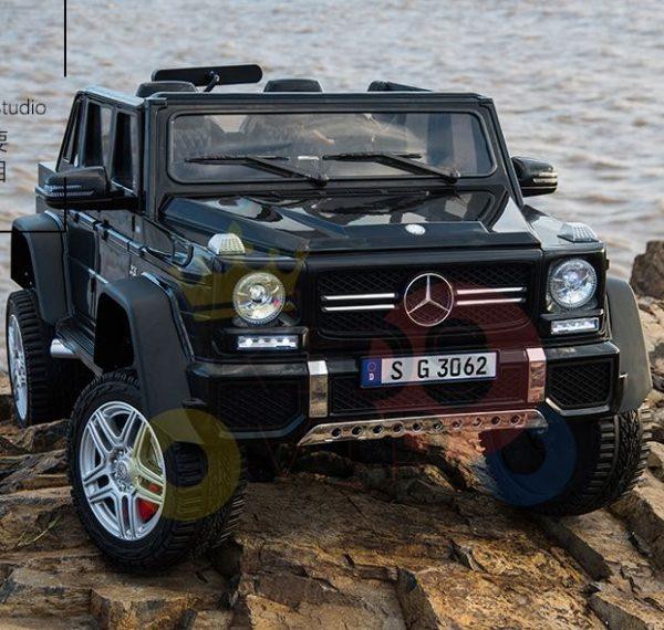 kidsvip mercedes maybach ride on truck car 2seater 2 seater black mp4 18