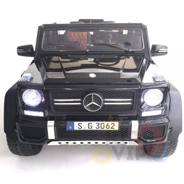 kidsvip mercedes maybach ride on truck car 2seater 2 seater black mp4 27 1