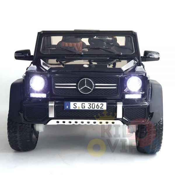 kidsvip mercedes maybach ride on truck car 2seater 2 seater black mp4 28