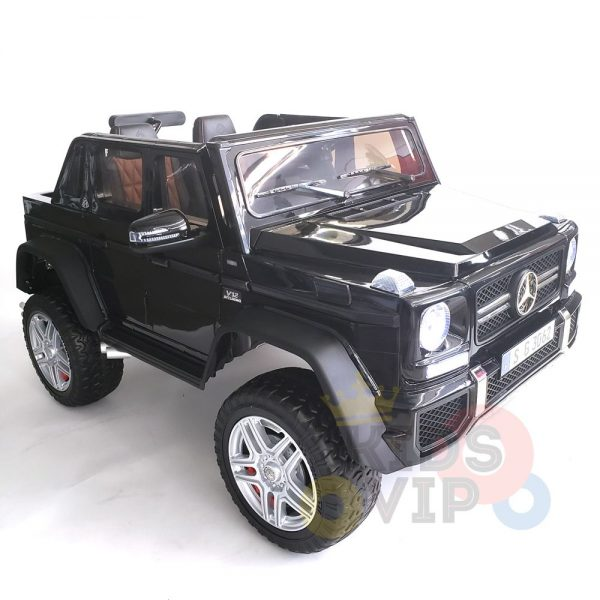 kidsvip mercedes maybach ride on truck car 2seater 2 seater black mp4 5 1