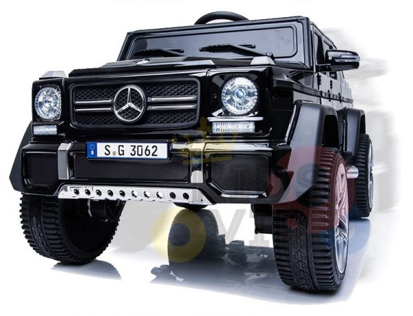 kidsvip mercedes maybach ride on truck car 2seater 2 seater black mp4 58