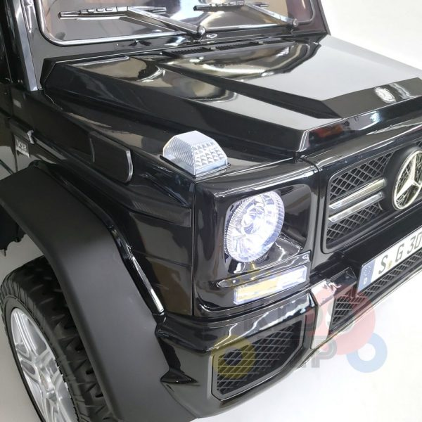 kidsvip mercedes maybach ride on truck car 2seater 2 seater black mp4 8