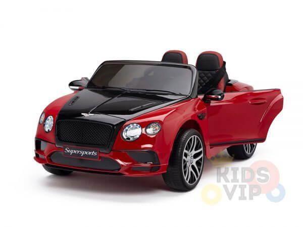 kidsvip ride on kids bentley toddler 12v remote 18