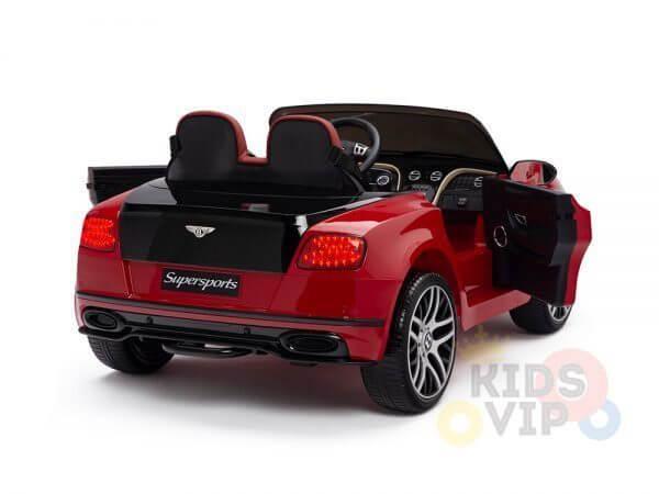 kidsvip ride on kids bentley toddler 12v remote 8 1