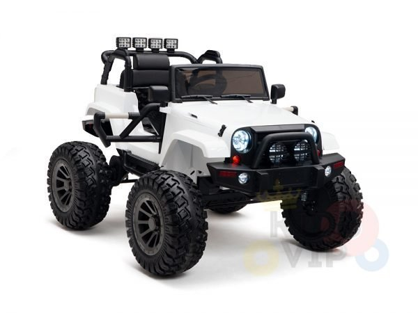 24v kids ride on truck lifted jeep rc kidsvip 12 1