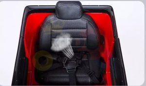 MERCEDES G63 KIDS TODDLERS RIDE ON CAR 12V RUBBER WHEEL LETHAR SEAT KIDSVIP BLACK PAINT 1