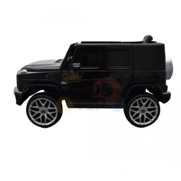 MERCEDES G63 KIDS TODDLERS RIDE ON CAR 12V RUBBER WHEEL LETHAR SEAT KIDSVIP BLACK PAINT 10