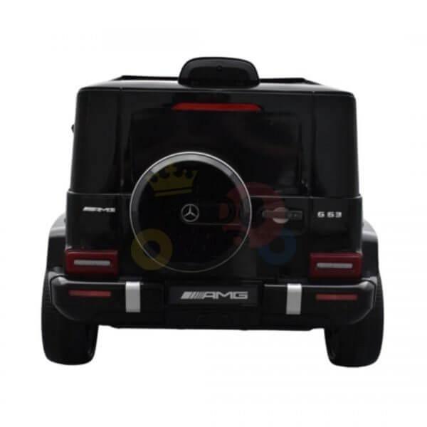 MERCEDES G63 KIDS TODDLERS RIDE ON CAR 12V RUBBER WHEEL LETHAR SEAT KIDSVIP BLACK PAINT 11