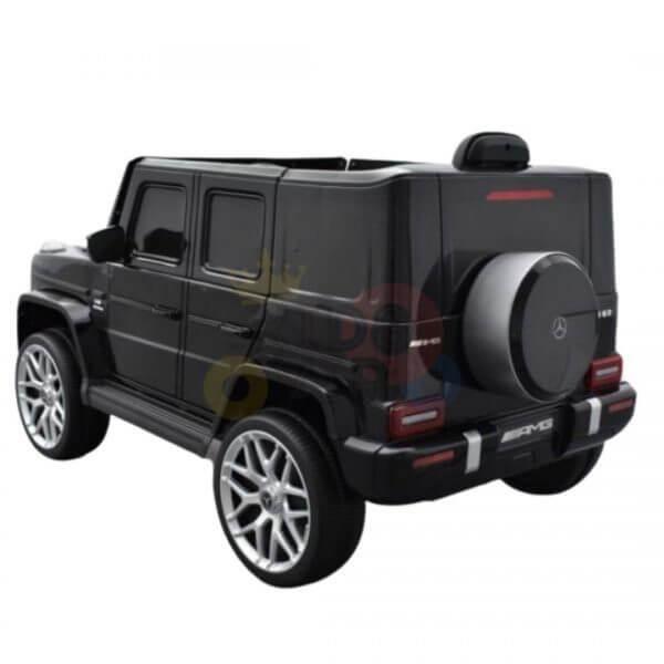 MERCEDES G63 KIDS TODDLERS RIDE ON CAR 12V RUBBER WHEEL LETHAR SEAT KIDSVIP BLACK PAINT 13