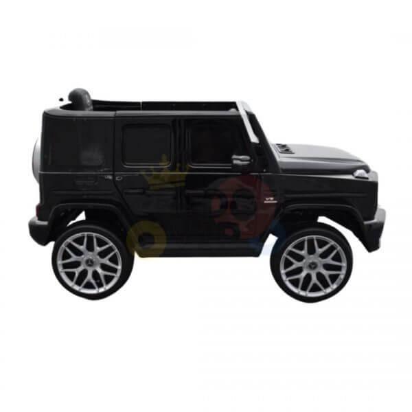 MERCEDES G63 KIDS TODDLERS RIDE ON CAR 12V RUBBER WHEEL LETHAR SEAT KIDSVIP BLACK PAINT 14