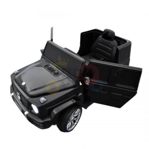 MERCEDES G63 KIDS TODDLERS RIDE ON CAR 12V RUBBER WHEEL LETHAR SEAT KIDSVIP BLACK PAINT 15